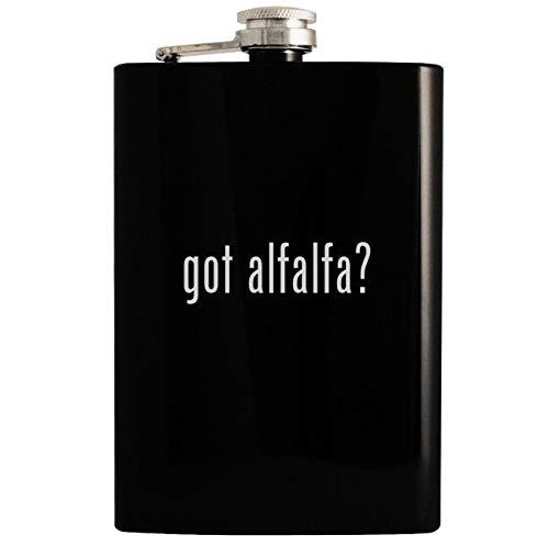 got alfalfa? - 8oz Hip Drinking Alcohol Flask, Black