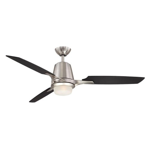 hampton bay stylique ii 52 in brushed nickel ceiling fan