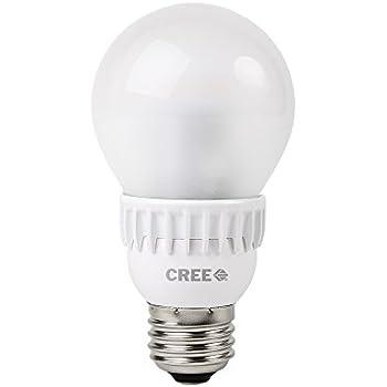 Cree 60W Equivalent Soft White (2700K) A19 LED Light Bulb (4-Pack)
