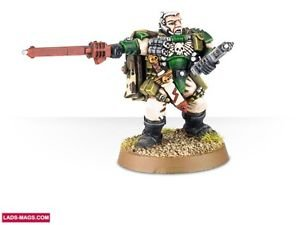 Games Workshop Space Marine Veteran Sergeant naaman for sale  Delivered anywhere in USA