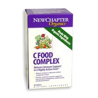 New Chapter's C Food Complex 180 Tablet (2 Pack) [Health and Beauty]