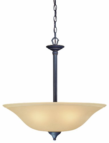 Light Pendant Rockford 1 - Thomas Lighting M260663 Rockford Pendant, Painted Bronze
