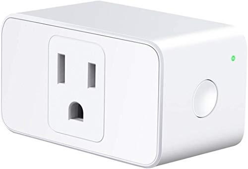 Meross Wi-Fi Smart Plug Mini, 15 Amp & Reliable Wi-Fi Connection, Alexa and Google Voice Control, App Remote Control…