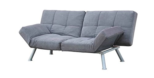 (Futon Sofa Bed Lounge Convertible Loveseats Reclining Multi-positioning 2 Seat Modern Office Furniture or Patio Couch for Bedrooms Chair Seat Guests Bed Living Room Sleeper for Comfort on Sale)