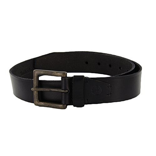 Timberland 40MM Oil Tan Jean Belt Black 38 Mens Belt