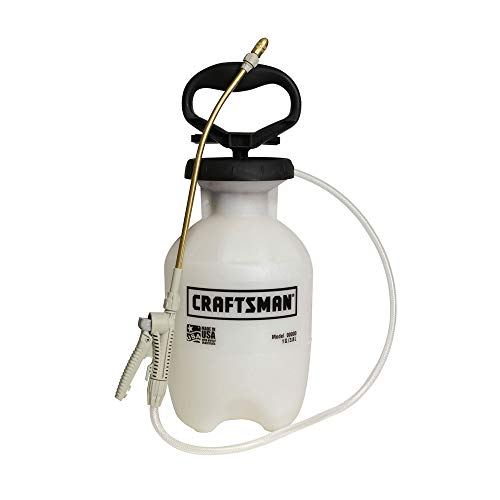 Craftsman 20071 1 Gallon Tank Hand Held Pump Garden Lawn Weed & Pest Sprayer