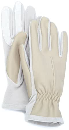 Isotoner Women's Water And Stain Repellent Hybrid Glove, Camel, One Size