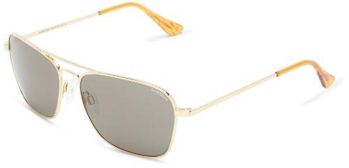 Randolph Intruder IR81411 Square Sunglasses,23K Gold Plated,58 (Intruder Sunglasses)