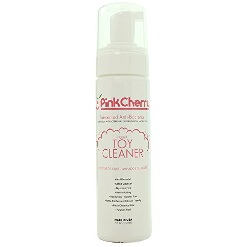 PinkCherry Unscented Anti-Bacterial Foaming Toy Cleaner