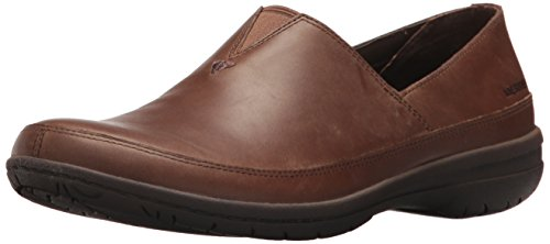 Merrell Dress Shoes - Merrell Women's Encore Kassie Moc Clog, Dark Earth, 9 Medium US