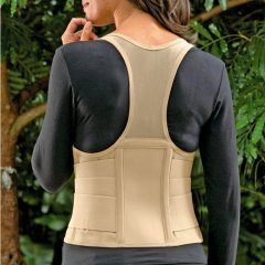 SPECIAL PACK OF 3-Cincher Female Back Support X-Small Tan by Marble Medical