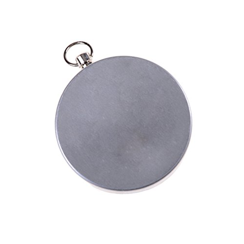 7thLake Pocket Compass for Hiking Camping Traveling Outdoor - Keychain - Portable Round Compass by 7thLake (Image #4)