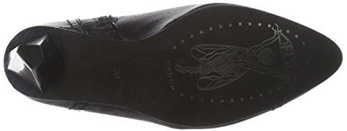 Fly London Abi751fly - Botas de tacón para mujer Negro (Black 001)