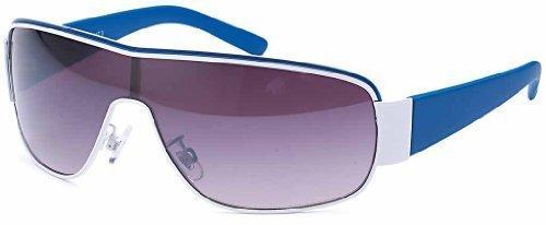 Designer Sonnenbrille Brille Damen & Herren Sport Rad Sunglasses Pilotenbrille 2592 (pilot Verspiegelt) nKs92JBMI