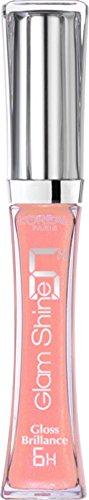 L'oreal Glam Shine Lip Gloss for Women, 103 Forever Nude, 0.2 ()