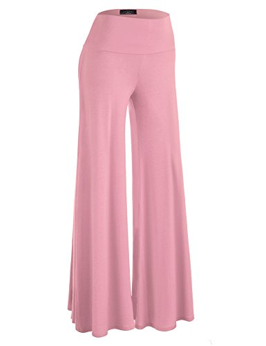 Made By Johnny WB750 Womens Chic Palazzo Lounge Pants S -