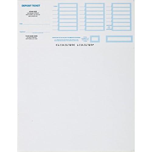 New 250- Printable Deposit Slips Customized supplier
