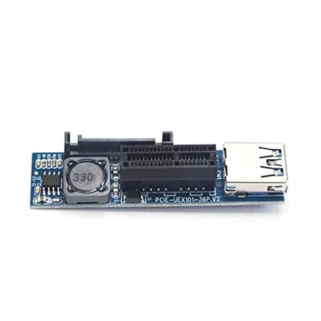 Amazon.com: PCI-E PCI E Express 1X to 1X Extender Adapter ...