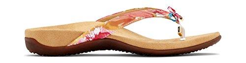 Vionic Rest BellaII Floral Women's Sandal Toepost White xpwAxqRr