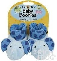 99f896a28 Rich Frog Newborn Blue Elephant Baby Booties 0-6 Months