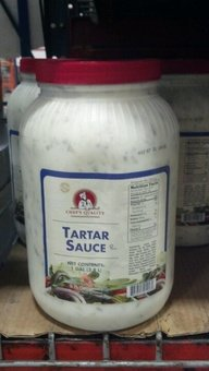 Chef's Quality Tartar Sauce 1 Gal (2 Pack) by Chef's Quality