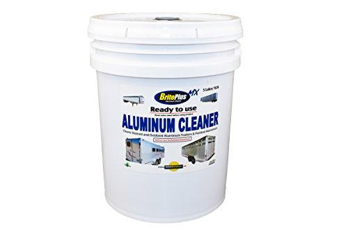 Brite Plus MX Aluminum & Stainless Steel Cleaner (5 Gallon Pail) (Brite Cleaner Aluminum)