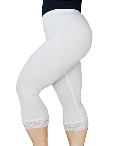 Women's Plus Size Capri Leggings