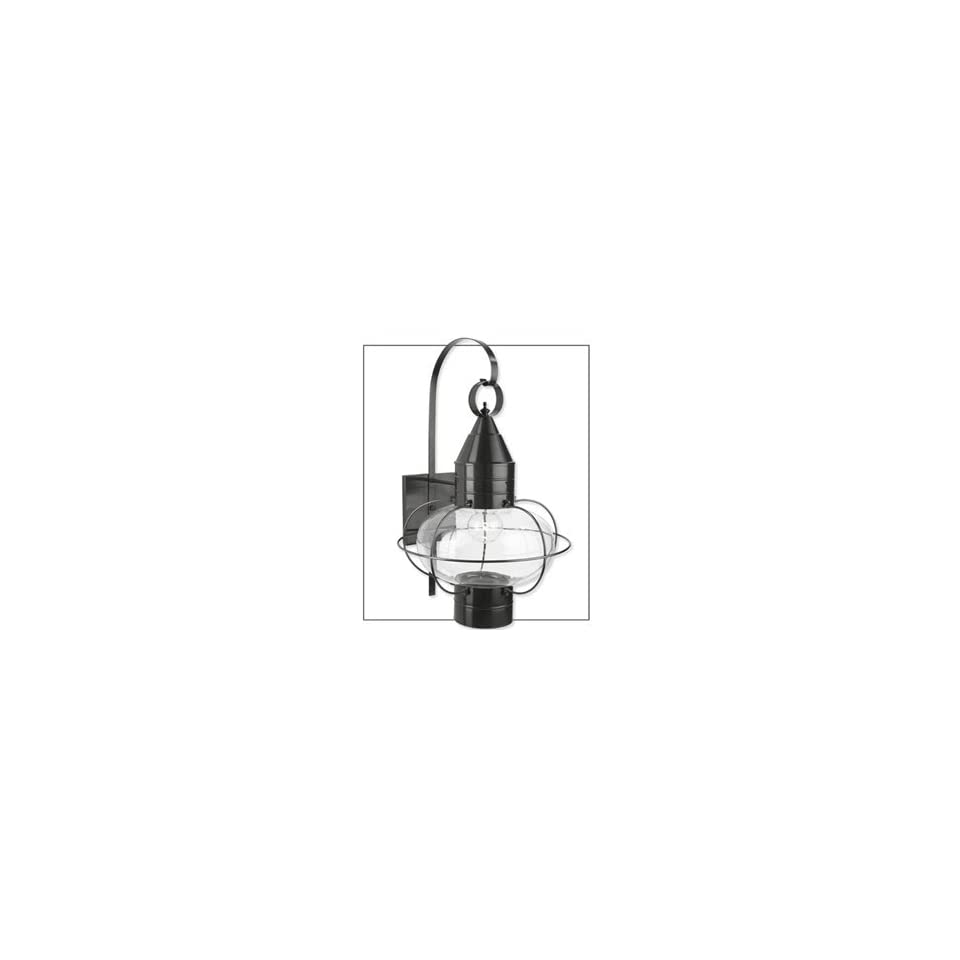 Norwell Lighting 1509BL Black CL Clear Indoor & Outdoor Lighting Large