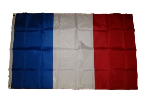 USA Seller3x5 France French Tricolor 210D nylon Flag 3x5 House Banner + bonus e-book with pictures