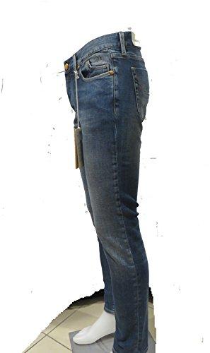 JECKERSON Herren Chino Jeanshose blau D401 Mid blu Japanese