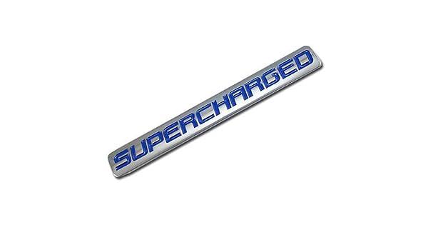 Blue//Chrome 4.7L Logo Sign Plate Rear Trunk Symbol Badge Decal Sticker Emblem