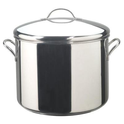 Classic Series 16 Qt. Stockpot Durable Stainless Steel Construction - Dishwasher Safe by Farberware (Image #1)