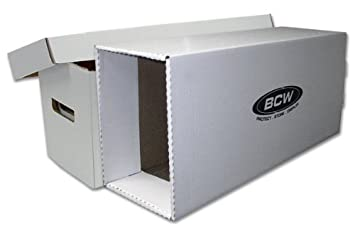 BCW Cómic House & caja de almacenaje, largo