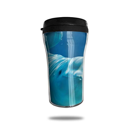 Personalized Tumblers Custom Beluga Whale Facts Stainless Steel Tumbler Coffee Mug DIY Tumbler Travel Cup