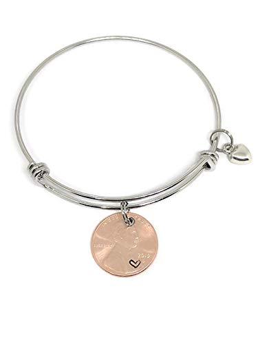 2019 Penny Bracelet: 2019 lucky