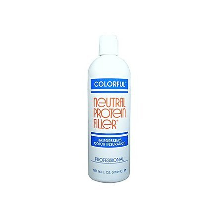 COLORFUL Neutral Protein Filler Hairdressers Color Insurance 16 oz/473 ml by Colorful Products
