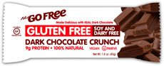NuGo bar gratuit, chocolat Crunch