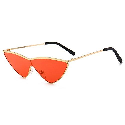 triángulo Marca de Gafas Ojo Nuevas Tamaño de Gafas Lindo Mujeres Diseño Sol Pequeño C Señoras E Gato Burenqi de de gradiente tonalidades Gafas Og8F5wqw