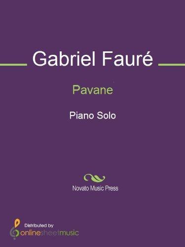 Faure Pavane Sheet Music (Pavane)