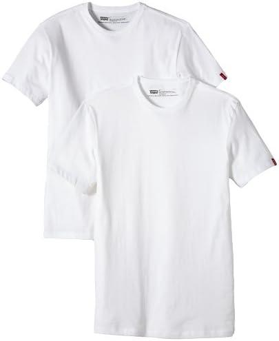 Levis Slim 2 Pack Crew Camiseta (Pack de 2) para Hombre: Amazon.es: Ropa y accesorios