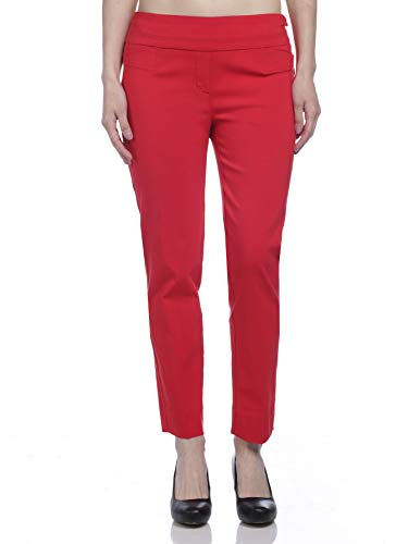 Zac & Rachel Women's Millenium Ankle Pants, Red Ginger, 10