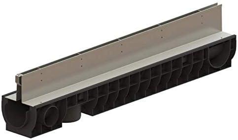 Drenaje Rinne 85, 00 €/m KL.C250/25T Ranura kg Tubo Hof canaleta para desagüe: Amazon.es: Jardín