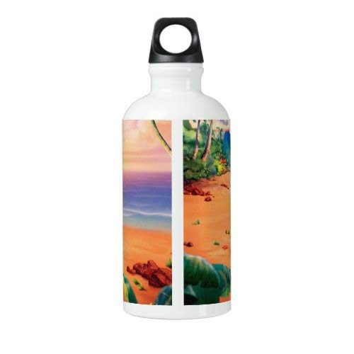 Steel Bottle for Water Outdoor Yoga Camping Hiking cartoon disney Lilo and Stitch Water Bottle 18 Oz Cycling Bottle Lilo and Stitch Sport Bottle Travel Flask Stainless Steel