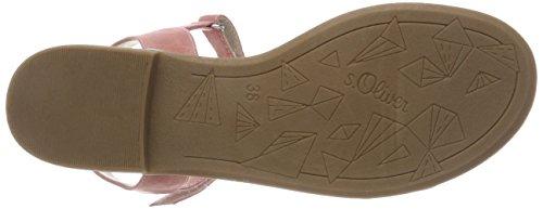 s.Oliver 58205, Sandalias de Talón Abierto Para Niñas Rosa (Dusty Pink)