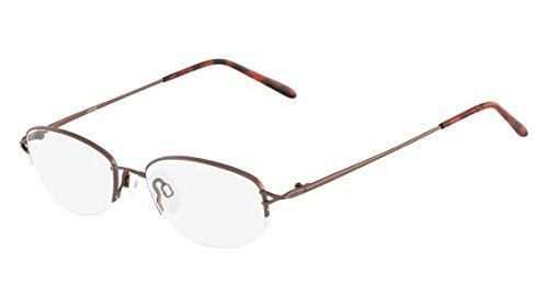ca4967744b Image Unavailable. Image not available for. Color  Flexon Flexon 635  Eyeglasses 218 Coffee ...