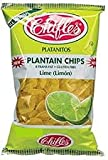 Chifles Plantain Chips Lime (Limon) 10 oz. Bag