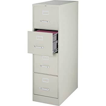 Amazon Com Lorell 4 Drawer Vertical File 15 By 22 By 52