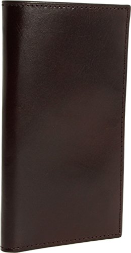 Bosca Mens Old Leather - Bosca Old Leather Coat Pocket Wallet (Dark Brown)