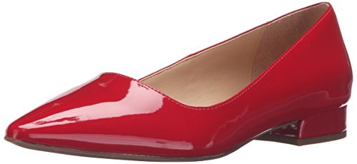 Franco Sarto Dames Saletha Punt Teen Plat Vuurrood