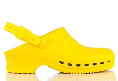 REPOSA - Zuecos para mujer amarillo